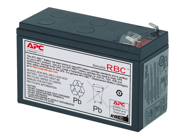 APC Replacement Battery Cartridge #17 *** Upgrade to a new UPS with APC TradeUPS and receive discount, don\
