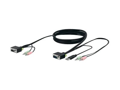 Belkin Cable kit for New SOHO KVM, USB Only, 10ft