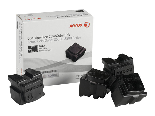 Xerox ColorQube 8570/8580 ink, black (4 sticks 8600 pages)