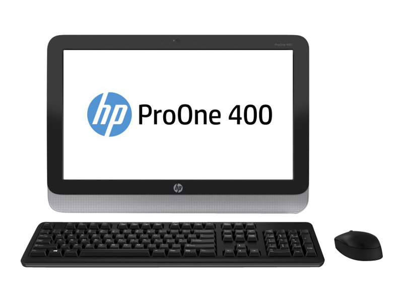 HP 400PO AiO NT Intel Pentium G3220T, Windows 8.1 64 bit, 4GB DDR3 RAM, 500GB HDD, DVD+/-RW, 1 Year Warranty United Kingdom