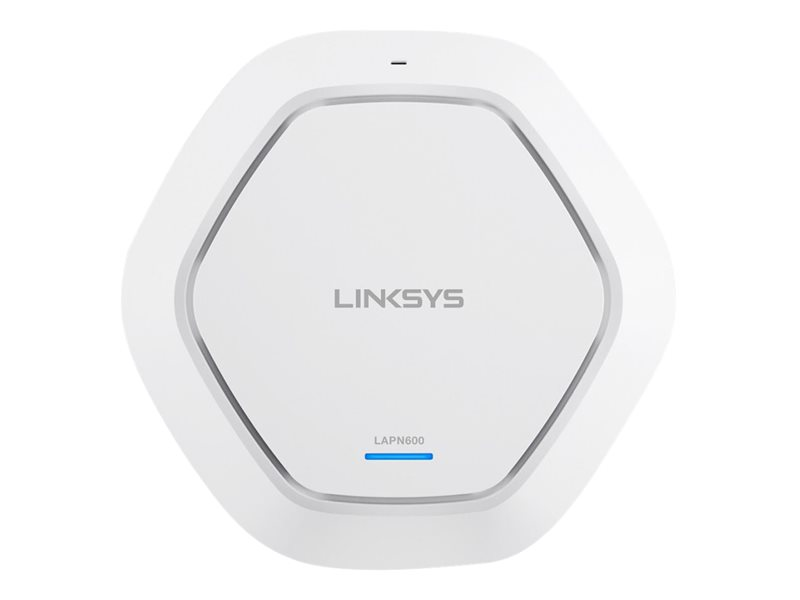 Linksys Dual Band N600 2x2 PoE AP with SmartWiFi - LAPN600-UK
