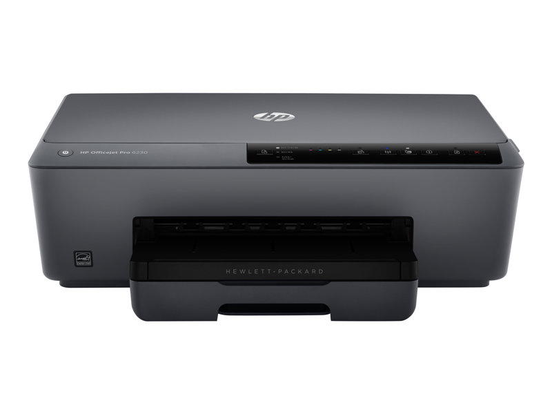 HP Officejet Pro 6230 ePrinter, 18ppm mono, 10ppm colour, A4, duplex, 256MB, up to 600x1200dpi, 225 paper tray, USB 2.0, ethernet, Wireless 802.11b/g/n, HP ePrint, Apple AirPrint, one year warranty