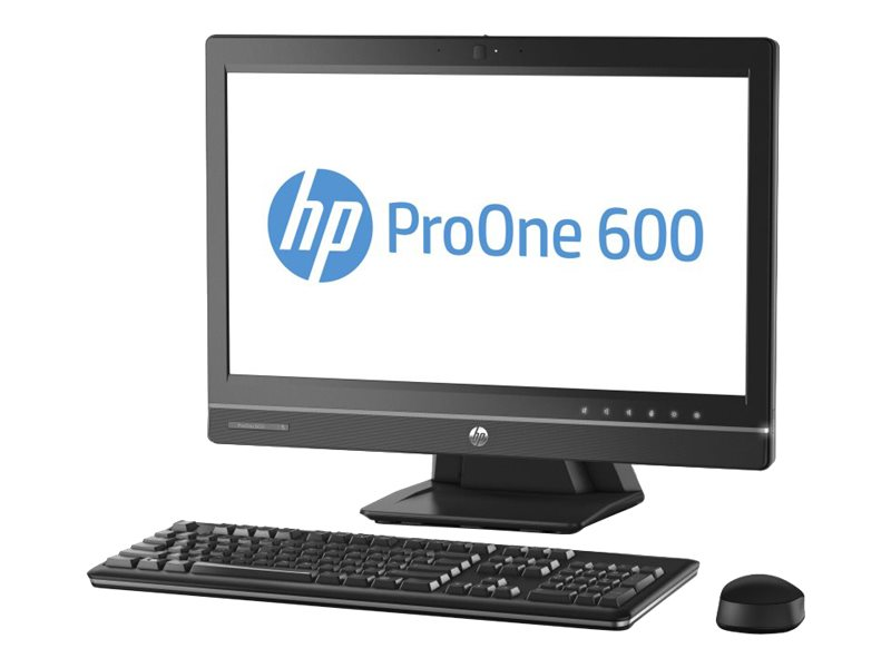 HP 600PO AiO Intel Core i5-4590S, Windows 8.1 Professional 64 bit downgraded to Windows 7 Pro 500GB HDD 7200 SATA,  DVD+/-RW, 4GB DDR3-1600 (sng ch), 3 Year Warranty United Kingdom