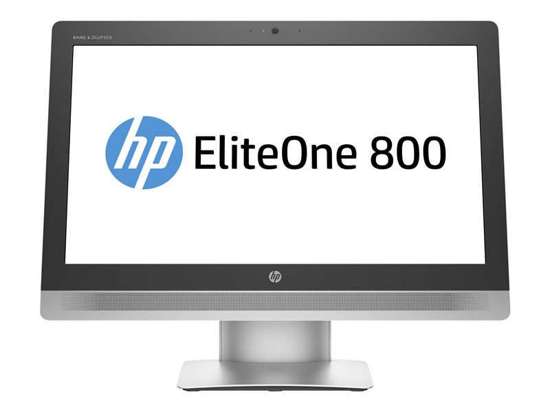 HP EliteOne 800 G2 - All-in-one - 1 x Core i3 6100 / 3.7 GHz - RAM 4 GB - HDD 500 GB - DVD SuperMulti - HD Graphics 530 - GigE - Win 7 Pro 64-bit (includes Win 10 Pro 64-bit Licence) - monitor: LED 23 1920 x 1080 (Full HD) -