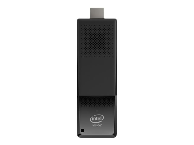Intel Compute Stick STK1AW32SC - Stick - Atom x5 Z8300 / 1.44 GHz - RAM 2 GB - flash - eMMC 32 GB - HD Graphics - WLAN: 802.11a/b/g/n/ac, Bluetooth 4.2 - Windows 10 - monitor: none