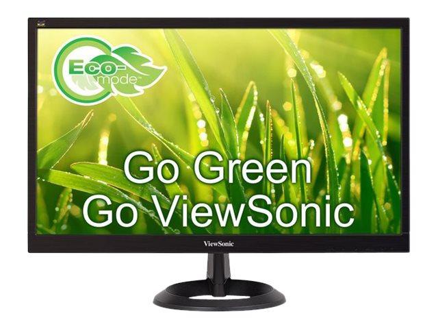 ViewSonic VA2261-2 - LED monitor - 22 (21.5 viewable) - 1920 x 1080 Full HD (1080p) @ 60 Hz - TN - 200 cd/m? - 600:1 - 5 ms - DVI-D, VGA