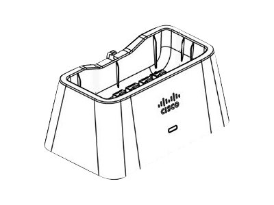 Cisco OEAP1810 Series Cradle Kit - Docking cradle - Ethernet - for Aironet 1810 OfficeExtend Access Point