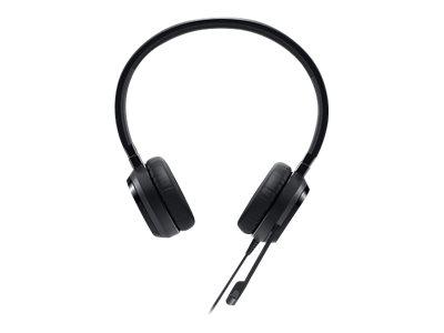 Dell Pro Stereo Headset - UC150 - Skype for Business - Headset - on-ear - wired - USB - for Latitude 33XX, 34XX, 35XX, 73XX, 94XX, 95XX, OptiPlex 30XX, 70XX, Vostro 53XX, 5502