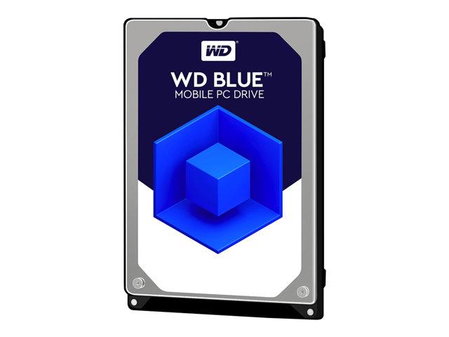 WD Blue WD10SPZX - Hard drive - 1 TB - internal - 2.5 - SATA 6Gb/s - 5400 rpm - buffer: 128 MB