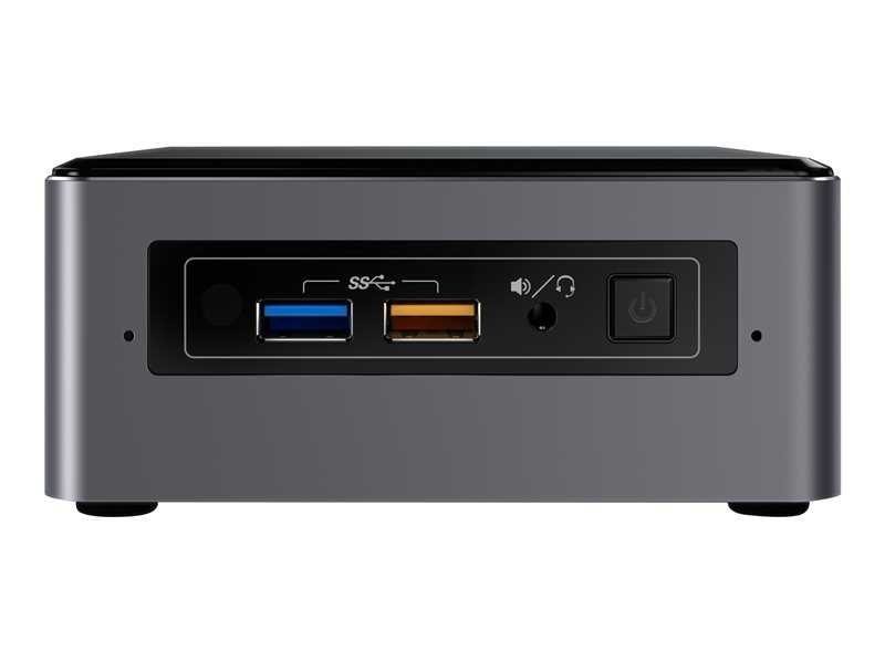 Intel Next Unit of Computing Kit NUC7i7BNHx1 - Barebone - mini PC - 1 x Core i7 7567U / 3.5 GHz - Iris Plus Graphics 650 - GigE - WLAN: 802.11a/b/g/n/ac, Bluetooth 4.2 - with 16GB Intel Optane Memory M.2 module