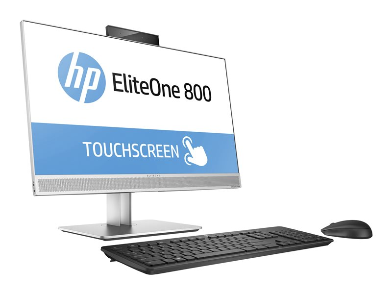 HP EliteOne 800 G3 - All-in-one - Core i5 7500 / 3.4 GHz - RAM 8 GB - HDD 1 TB - DVD-Writer - HD Graphics 630 - GigE - WLAN: 802.11a/b/g/n/ac, Bluetooth 4.2 - Win 10 Pro 64-bit - vPro - monitor: LED 23.8 1920 x 1080 (Full HD