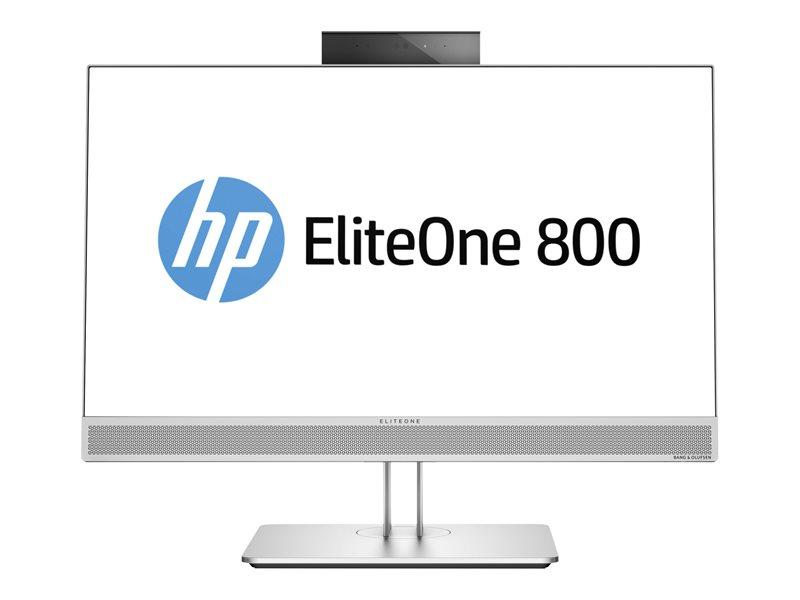 HP EliteOne 800 G3 - All-in-one - 1 x Core i5 7500 / 3.4 GHz - RAM 8 GB - SSD 256 GB - NVMe, HP Turbo Drive G2, TLC - DVD-Writer - HD Graphics 630 - GigE - WLAN: 802.11a/b/g/n/ac, Bluetooth 4.2 - Win 10 Pro 64-bit - vPro - mo