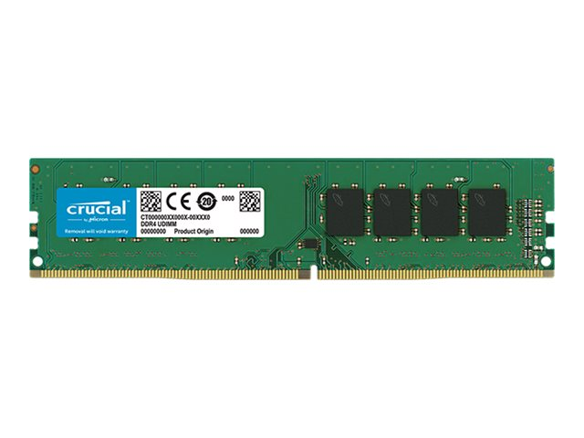 Crucial - DDR4 - 8 GB - DIMM 288-pin - 2666 MHz / PC4-21300 - CL19 - 1.2 V - unbuffered - non-ECC