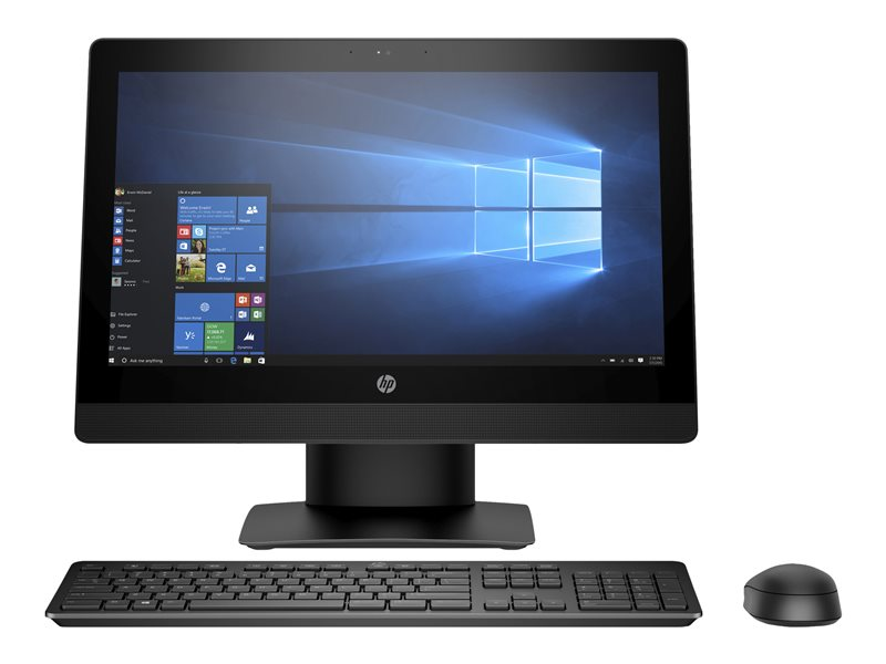 HP ProOne 400 G3 - All-in-one - 1 x Core i5 7500T / 2.7 GHz - RAM 4 GB - SSD 256 GB - TLC - DVD-Writer - HD Graphics 630 - GigE - WLAN: 802.11a/b/g/n/ac, Bluetooth 4.2 - Win 10 Pro 64-bit - monitor: LED 20 1600 x 900 (HD+) -