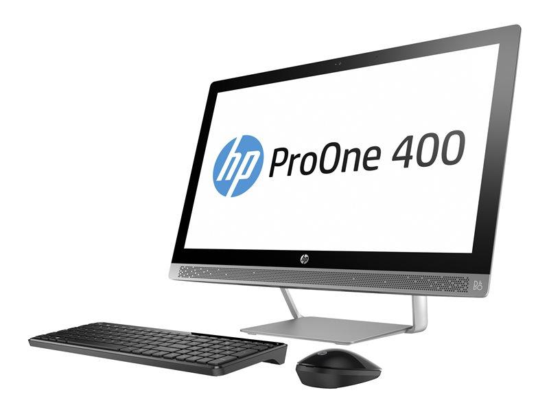 HP ProOne 440 G3 - All-in-one - 1 x Core i5 7500T / 2.7 GHz - RAM 8 GB - SSD 128 GB - HD Graphics 630 - GigE - Win 10 Pro 64-bit - monitor: LED 23.8 1920 x 1080 (Full HD)