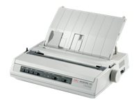 OKI ML280eco - Printer - monochrome - dot-matrix - 241.3 mm (width) - 240 x 216 dpi - 9 pin - up to 375 char/sec - parallel, USB 2.0