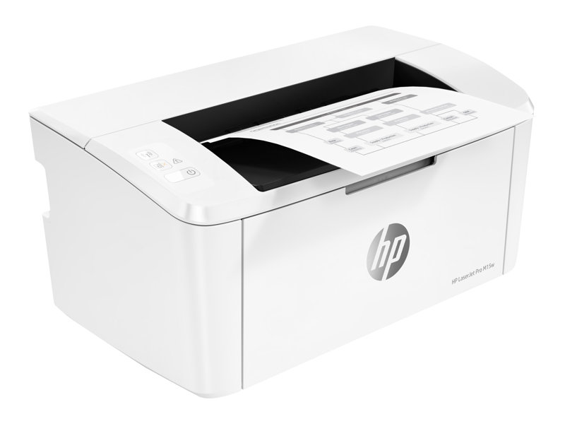 HP LaserJet Pro M15w - Printer - monochrome - laser - A4 - 600 x 600 dpi - up to 18 ppm - capacity: 150 sheets - USB 2.0, Wi-Fi(n)