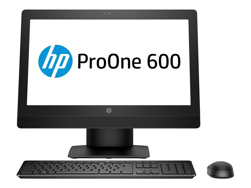 HP ProOne 600 G3 - All-in-one - 1 x Core i5 7500 / 3.4 GHz - RAM 8 GB - HDD 500 GB - DVD-Writer - HD Graphics 630 - GigE - WLAN: 802.11a/b/g/n/ac, Bluetooth 4.2 - Win 10 Pro 64-bit - monitor: LED 21.5 1920 x 1080 (Full HD) -