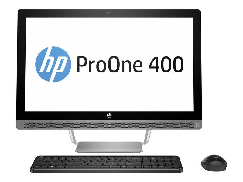HP ProOne 440 G3 - All-in-one - 1 x Core i5 7500T / 2.7 GHz - RAM 8 GB - HDD 1 TB - DVD-Writer - HD Graphics 630 - GigE - Win 10 Pro 64-bit - monitor: LED 23.8 1920 x 1080 (Full HD)
