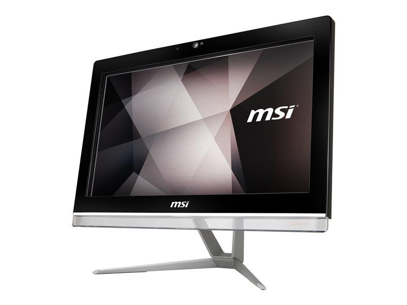 MSI Pro 20EX 7M 033XEU - All-in-one - Celeron G3930 / 2.9 GHz - RAM 4 GB - HDD 1 TB - DVD SuperMulti - HD Graphics 610 - GigE - WLAN: 802.11a/b/g/n/ac, Bluetooth 4.2 - no OS - monitor: LED 19.5 1600 x 900 (HD+)