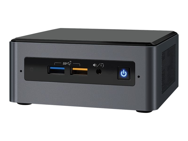 Intel Next Unit of Computing Kit NUC8I5BEH - Barebone - mini PC - 1 x Core i5 8259U / 2.3 GHz - Iris Plus Graphics 655 - GigE, Bluetooth 5.0 - WLAN: 802.11a/b/g/n/ac, Bluetooth 5.0