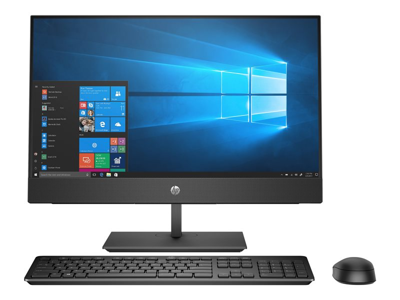 HP ProOne 440 G4 - All-in-one - 1 x Core i5 8500T / 2.1 GHz - RAM 8 GB - HDD 1 TB - DVD-Writer - UHD Graphics 630 - GigE, Bluetooth 5.0 - WLAN: 802.11a/b/g/n/ac, Bluetooth 5.0 - Win 10 Pro 64-bit - monitor: LED 23.8 1920 x 1
