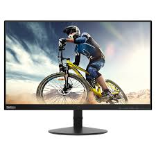 Lenovo ThinkVision S22e-19 - LED monitor - 21.5 (21.5 viewable) - 1920 x 1080 Full HD (1080p) - VA - 250 cd/m? - 3000:1 - 6 ms - HDMI, VGA - raven black