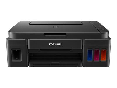 Canon PIXMA G2501 - Multifunction printer - colour - ink-jet - Refillable - 216 x 297 mm (original) - A4/Legal (media) - up to 8.8 ipm (printing) - 100 sheets - USB 2.0