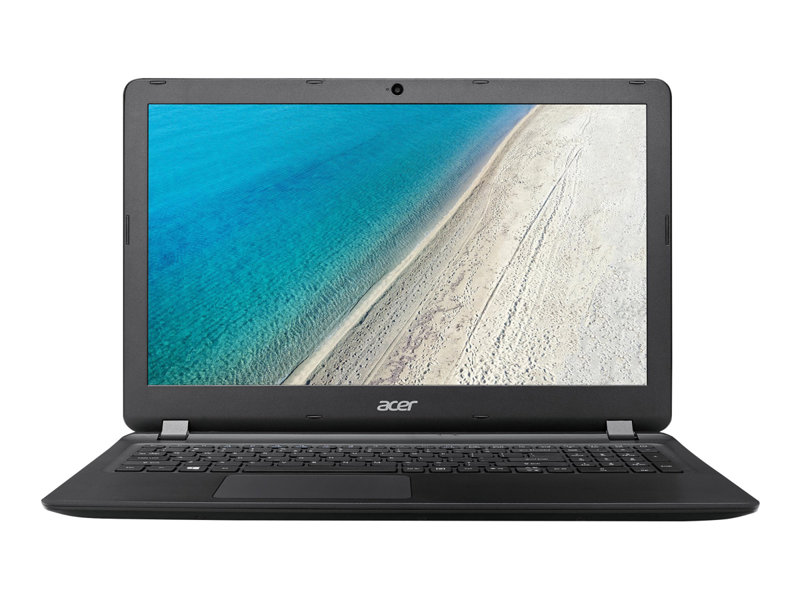 Acer Extensa 15 2540-347D - Core i3 6006U / 2 GHz - Win 10 Home 64-bit - 4 GB RAM - 500 GB HDD - DVD-Writer - 15.6 TN 1366 x 768 (HD) - HD Graphics 520 - Wi-Fi, Bluetooth - midnight black - kbd: UK
