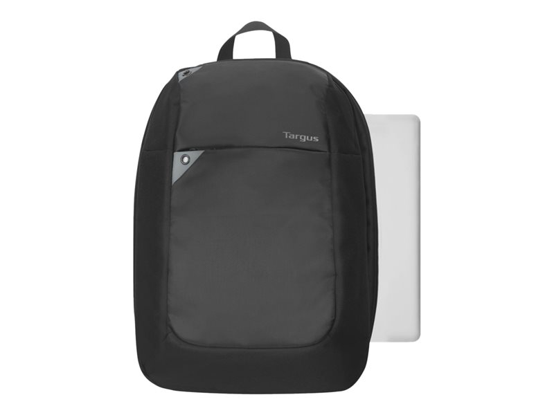 Targus Intellect - Notebook carrying backpack - 15.6 - grey, black