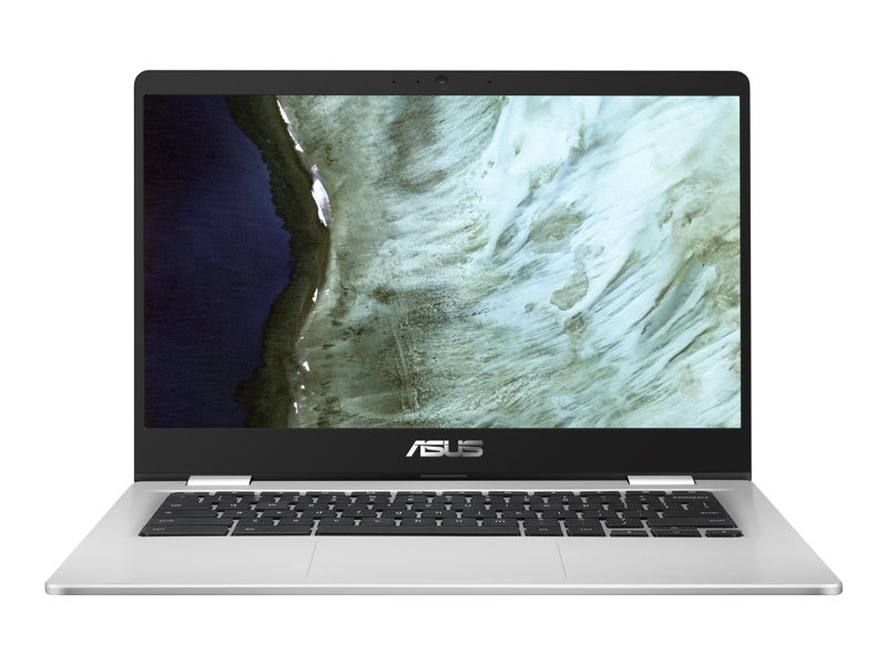 ASUS Chromebook C423NA-EC0161 Intel Dual-Core Celeron N3350 Processor (2M Cache, up to 2.4 GHz) LPDDR4 8GB 32G EMMC 14.0 Slim 250nits FHD 1920x1080 16:9 Glare NTSC: 45% Touch Wide View Intel HD Graphics 500 HD Web Camera 802