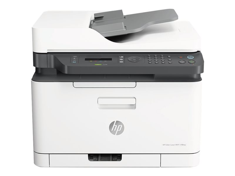 HP Color Laser MFP 179fnw - Multifunction printer - colour - laser - A4 (210 x 297 mm) (original) - A4/Letter (media) - up to 18 ppm (copying) - up to 18 ppm (printing) - 150 sheets - 33.6 Kbps - USB 2.0, LAN, Wi-Fi(n)
