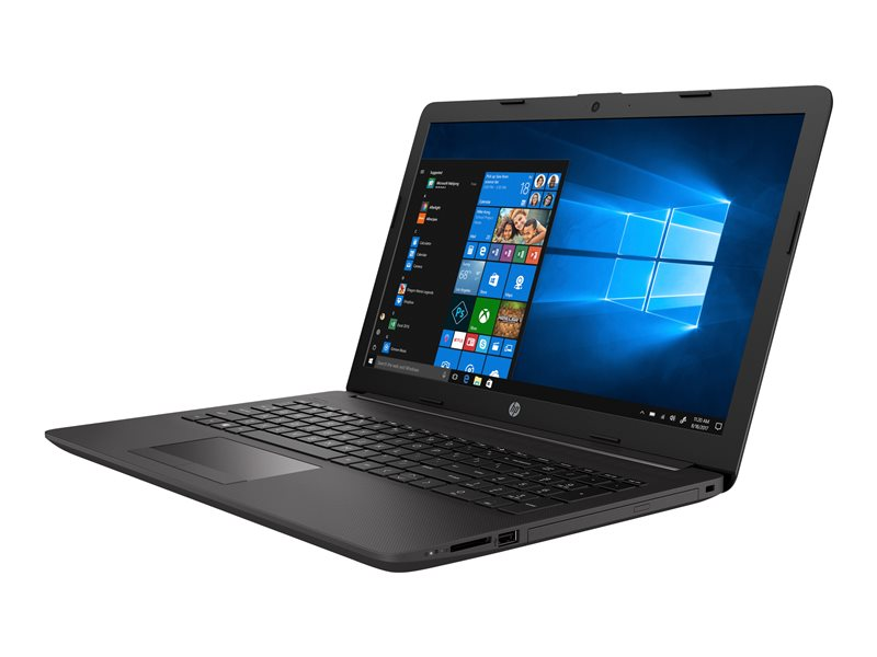 HP 255 G7 - Ryzen 3 2200U / 2.5 GHz - Win 10 Pro 64-bit - 8 GB RAM - 256 GB SSD NVMe - DVD-Writer - 15.6 1366 x 768 (HD) - AMD Radeon Vega - 802.11ac, Bluetooth - dark ash silver - kbd: UK