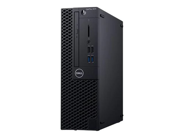 Optiplex 3070 SFF Small Form Factor Intel Core i5-9500 (9M Cache, up to 4.4 GHz) 8GB (1x8GB) 2666MHz DDR4 256GB SSD PCIe M.2  Integrated    8x DVD RW  Keyboard  Dell Optical USB Mouse   Power Cord Windows 10 Professional (64b