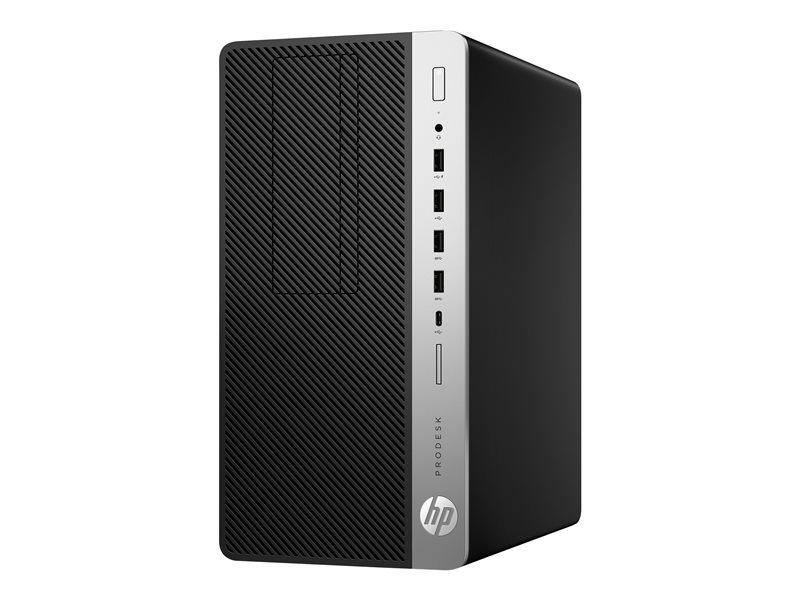 HP ProDesk 600 G5 - SFF - Core i7 8700 / 3.2 GHz - RAM 8 GB - SSD 256 GB - NVMe - UHD Graphics 630 - GigE - Win 10 Pro 64-bit - monitor: none - keyboard: English