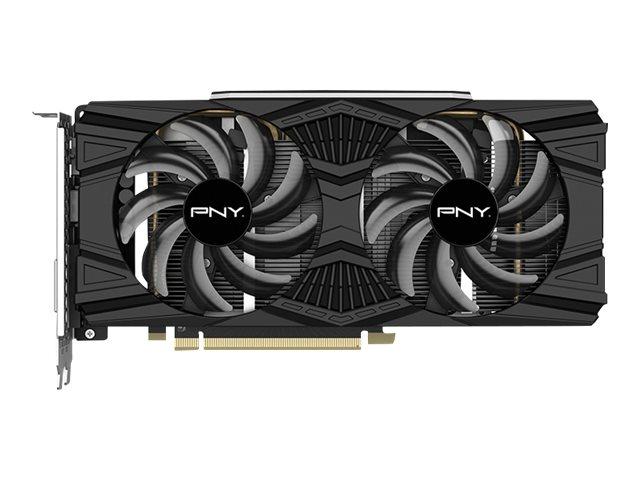 PNY GeForce GTX 1660 SUPER Dual Fan - Graphics card - GF GTX 1660 SUPER - 6 GB GDDR6 - PCIe 3.0 x16 - DVI, HDMI, DisplayPort