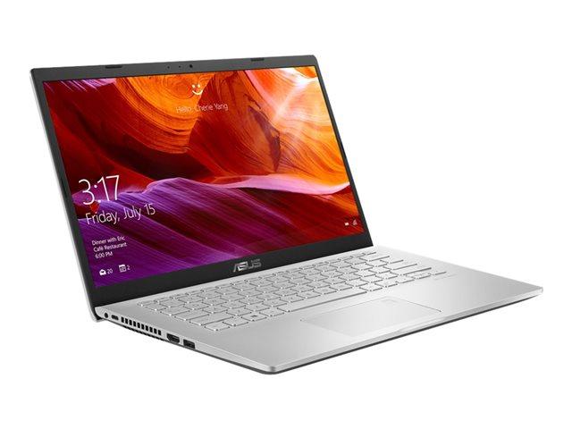 ASUS 14 M409DA-EK181T - Ryzen 7 3700U / 2.3 GHz - Windows 10 Home - 8 GB RAM - 512 GB SSD - 14 1920 x 1080 (Full HD) - Radeon RX Vega 10 - Wi-Fi, Bluetooth - transparent silver