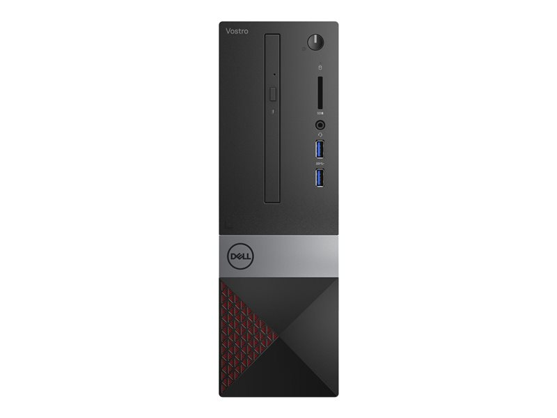 Dell Vostro 3471 - SFF - Core i3 9100 / 3.6 GHz - RAM 4 GB - HDD 1 TB - DVD-Writer - UHD Graphics 630 - GigE - WLAN: 802.11b/g/n, Bluetooth 4.0 - Win 10 Pro 64-bit - monitor: none - with 1 Year Dell Collect and Return Service