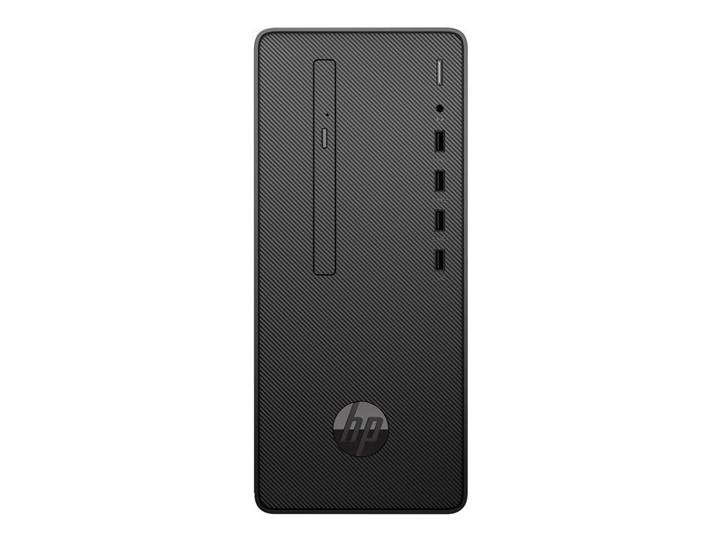 HP Desktop Pro A 300 G3 - Micro tower - Ryzen 3 Pro 2200G / 3.5 GHz - RAM 8 GB - SSD 256 GB - DVD-Writer - Radeon Vega 8 - GigE - Win 10 Pro 64-bit - monitor: none - keyboard: UK