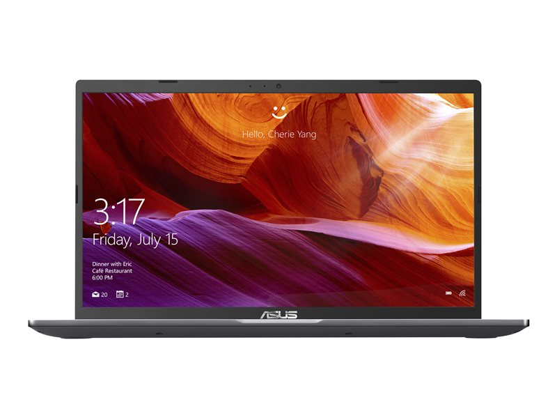 ASUS 15 X509JA-EJ147R - Core i3 1005G1 / 1.2 GHz - Win 10 Pro - 8 GB RAM - 256 GB SSD - 15.6 1920 x 1080 (Full HD) - UHD Graphics - Wi-Fi, Bluetooth - slate grey