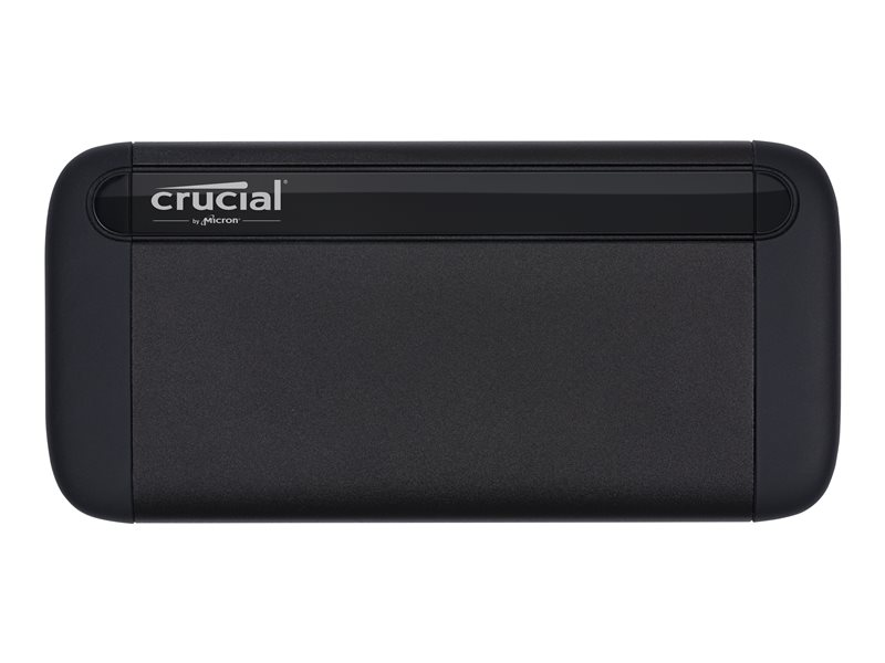 Crucial X8 - Solid state drive - 1 TB - external (portable) - USB 3.1 Gen 2 (USB-C connector)