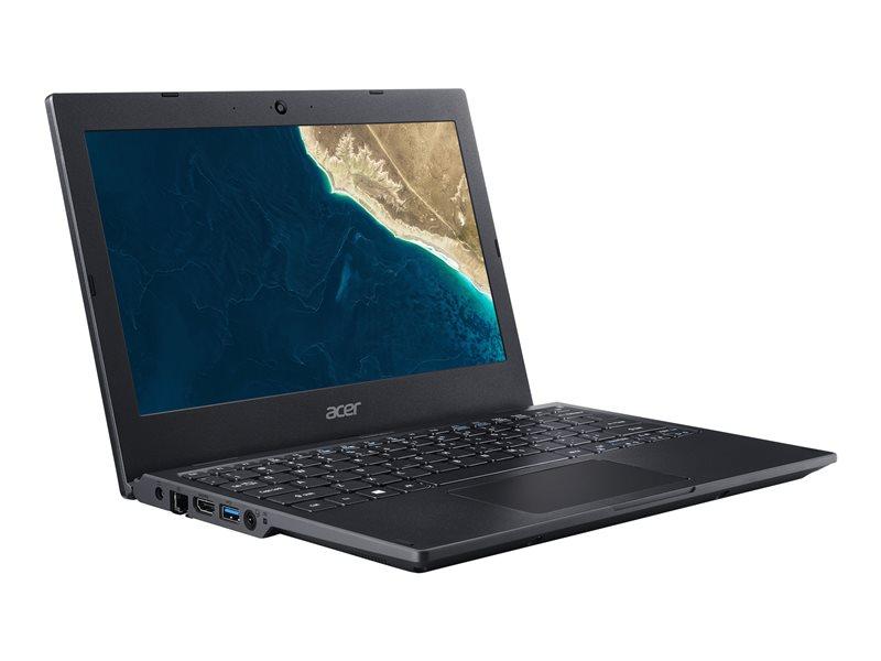 Acer TravelMate Spin B1 TMB118-G2-RN-P5LN - Flip design - Pentium Silver N5000 / 1.1 GHz - Win 10 Pro 64-bit National Academic - 4 GB RAM - 128 GB SSD - 11.6 IPS touchscreen 1920 x 1080 (Full HD) - UHD Graphics 605 - Wi-Fi,