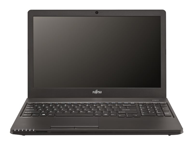 Fujitsu LIFEBOOK A359 - Core i3 8130U / 2.2 GHz - Win 10 Pro 64-bit - 8 GB RAM - 256 GB SSD - DVD SuperMulti - 15.6 1920 x 1080 (Full HD) - UHD Graphics 620 - Wi-Fi, Bluetooth - matte black