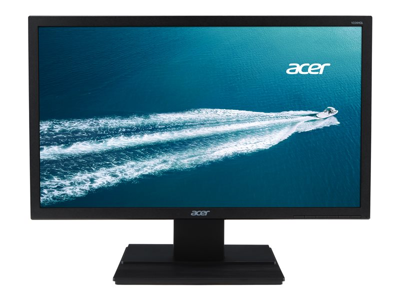 Acer V226HQL Bbi - LED monitor - 21.5 - 1920 x 1080 Full HD (1080p) @ 60 Hz - TN - 200 cd/m? - 5 ms - HDMI, VGA - black
