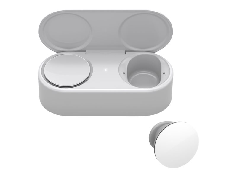 Microsoft Surface Earbuds - True wireless earphones with mic - ear-bud - Bluetooth - Glacier - commercial