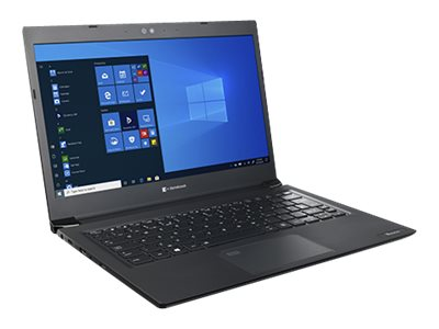Dynabook Toshiba Tecra A30-G-118 - Core i5 10210U / 1.6 GHz - Win 10 Pro 64-bit - 8 GB RAM - 256 GB SSD - 13.3 1366 x 768 (HD) - UHD Graphics - Bluetooth, Wi-Fi - tile black (keyboard), black with precious hairline - with 1