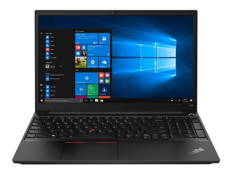 Lenovo ThinkPad E15 Gen 2 20TD - Core i7 1165G7 / 2.8 GHz - Win 10 Pro 64-bit - 16 GB RAM - 512 GB SSD NVMe - 15.6 IPS 1920 x 1080 (Full HD) - Iris Xe Graphics - Wi-Fi, Bluetooth - black - kbd: UK
