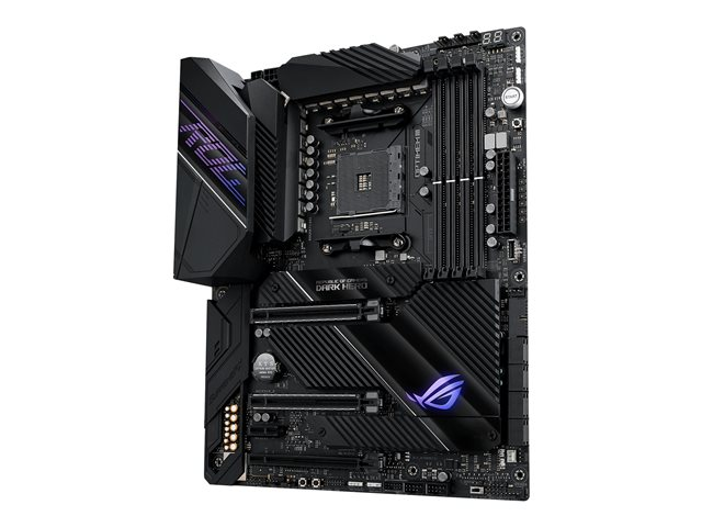 ASUS ROG Crosshair VIII Dark Hero - Motherboard - ATX - Socket AM4 - AMD X570 - USB-C Gen2, USB 3.2 Gen 1, USB 3.2 Gen 2 - Gigabit LAN, 2.5 Gigabit LAN, Wi-Fi, Bluetooth - HD Audio (8-channel)