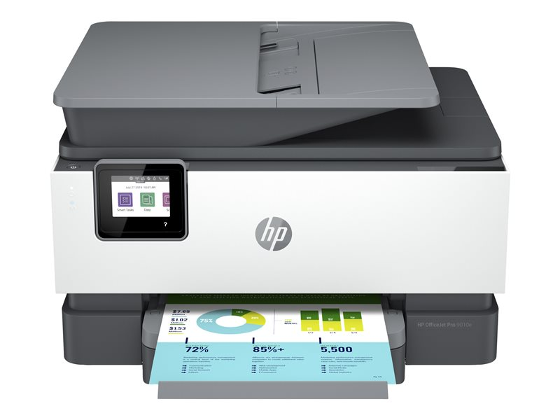 HP Officejet Pro 9010e All-in-One - Multifunction printer - colour - ink-jet - Legal (216 x 356 mm) (original) - A4/Legal (media) - up to 21 ppm (copying) - up to 22 ppm (printing) - 250 sheets - 33.6 Kbps - USB 2.0, LAN, Wi-