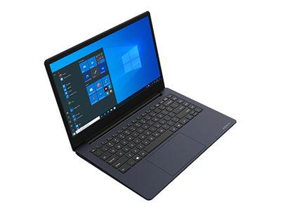 Dynabook Satellite Pro C40-G-10Z - Core i5 10210U / 1.6 GHz - Windows 10 Pro National Academic - 8 GB RAM - 256 GB SSD - 14 1366 x 768 (HD) - UHD Graphics - Wi-Fi 5, Bluetooth - dark blue, tile black (keyboard)